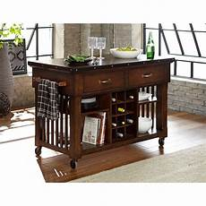 kitchen islands and carts furniture homelegance schleiger industrial kitchen island cart with