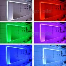 led stripes dekoratives licht vom laufenden 5m 500cm rgb 5050 led smd streifen stripe leiste set ir
