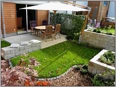 Garten Umgestalten Ideen - gartengestaltung kleiner garten sichtschutz gartenanlage