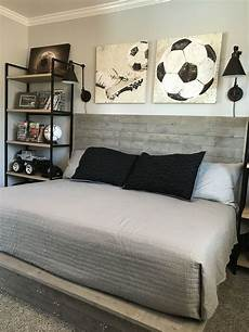 Bedroom Ideas Boys by Industrial Style Boy Soccer Themed Bedroom Diy Handmade