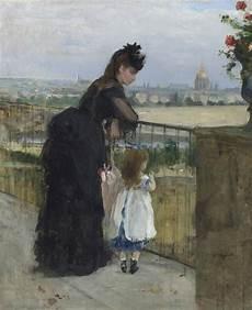 berthe morisot 1841 1895 femme et enfant au balcon
