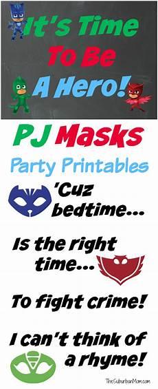 Pj Mask Malvorlagen Quotes Pj Masks Birthday Ideas And Free Printables The