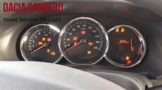 Dacia Sandero Reset Service Light
