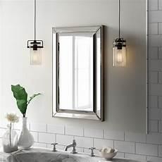 spiegelschrank in wand eingelassen greyleigh weslaco beaded 16 quot x 26 quot recessed framed
