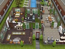 sims freeplay house plans variation on scandinavian house thesims simsfreeplay
