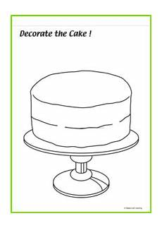 birthday cake worksheet 20213 sing and play blue maple leaf learning library
