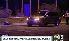 Uber Self Driving Vehicle Hits Kills Pedestrian In
