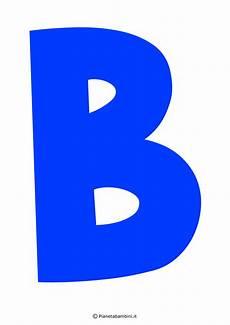 lettere alfabeto colorate da stare immagini lettera b lettera b pianetabambini it