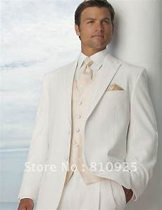 Wedding White Suits For Groom
