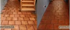 Cotto Terracotta Fliesen Reinigen Pflegen Aufbereitung