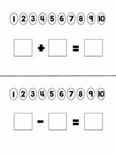 subtraction visual worksheets 10304 visual templates for teaching addition subtraction in 2020 with images teaching addition