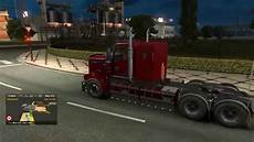 truck simulator 2 kenworth t908 with heavy load