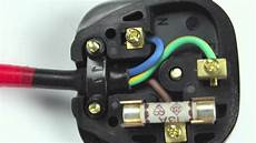 how to wire an iec plug youtube