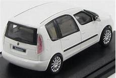 skoda roomster 2012 white abrex 1 43 buy in shop
