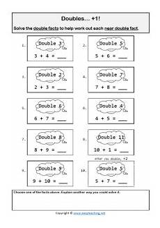 subtraction and addition strategies worksheets