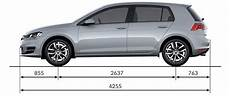 Vw Golf Mk7 Sizes And Dimensions Guide Carwow