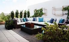 terrasse gestalten modern wohnung mit terrasse