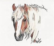 haflinger artist page with images pictures to draw