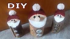 weihnachtsmann nikolaus aus holz diy julebuergerfee