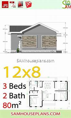 house plans with gable roof house plans 12x8 with 3 bedrooms gable roof sam house plans
