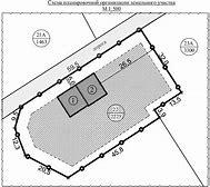 схема планировочной организации для разрешения на строительство