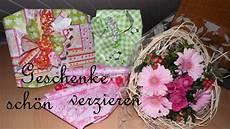 Geschenk Schön Verpacken - geschenke schnell und originell verpacken