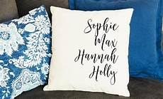 personalized family names throw pillow cover qualtry