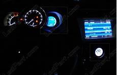 led kit for meter dashboard citroen ds3 blue white green