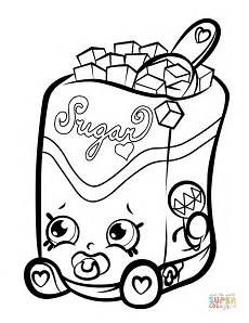 sugar lump shopkin coloring page free printable coloring