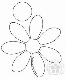 Pattern Cut Out Flowers Templates