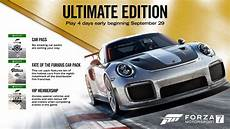 forza motorsport 7 ultimate edition play forza motorsport 7 four days early with today s