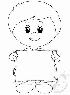 bambino con scritta grazie maestra lavoretti creativi