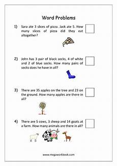 subtraction worksheets word problems 10320 addition and subtraction word problems worksheets for kindergarten and grade 1 story sums