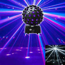 American Dj Adj Starburst Led Sphere Multi Color Shooting