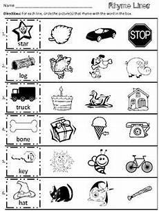 rhyme lines freebie rhyming worksheet rhyming kindergarten rhyming activities
