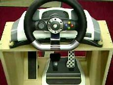 xbox 360 steering wheel and foot pedal accessory stand