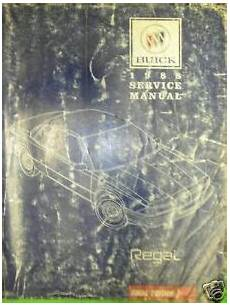 book repair manual 1988 buick skylark electronic valve timing 1988 buick regal gm shop repair manual service ebay