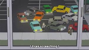 Car Accident Running GIF By South Park  Find & Share On GIPHY
