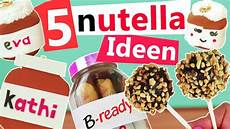 Selber Machen Ideen - nutella diy 5 ideen zum selber machen deko rezepte