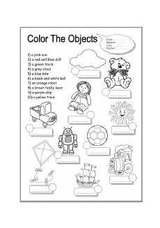 worksheets colors and toys 12707 colour the toys esl worksheet by xyz5