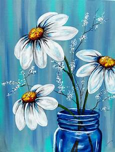beautiful painting in a blue awesome beginner painting idea in 2019 painting