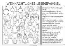 weihnachtliches lesegewimmel n 233 met vorschule
