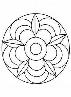 simple mandala 40 mandalas coloring pages for to