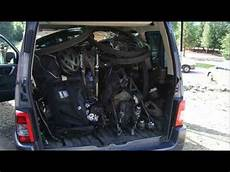 opel zafira kofferraum opel zafira trunk space
