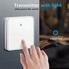 Smatrul 433mhz Wireless Wifi Smart Switch by Other Home Automation Smatrul H9 White 433mhz 300m 1gang