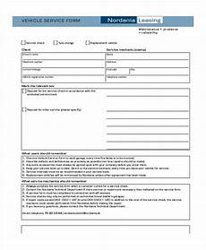 free 35 service form in templates pdf
