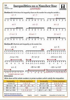 algebra worksheets inequalities 8439 cazoom maths worksheets printable maths worksheets