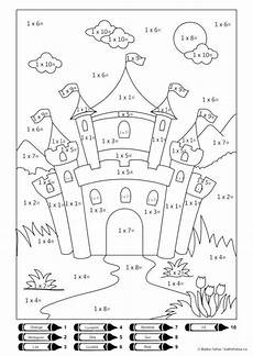 multiplication worksheets colouring 4348 printable color by number multiplication math coloring worksheets multiplication color by