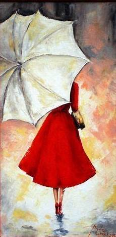 Le Frau Mit Schirm - with umbrella 8x10 print etsy drawings and