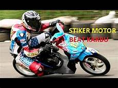 Striping Beat 2018 Modifikasi by Modifikasi Honda Beat Terbaru 2018 I Katalog Stiker